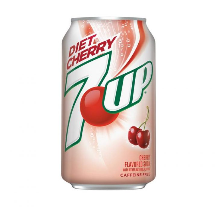7 UP Can 355ml Diet Cherry ( American) X 12