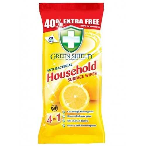 Anti-bacterial Household Surface Wipes 4 in 1 70 ct