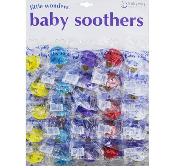 Baby Soothers Little Wonder 25 per Card