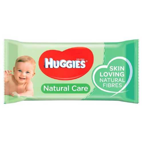 Baby Wipes Huggies Natural Care 56 Sheets X 10