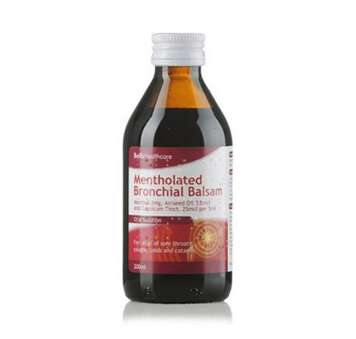 Medicine Bell's Bronchial Balsam 200ml 6 Per Box
