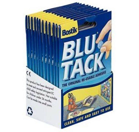 Blu Tack Bostik 12/Box