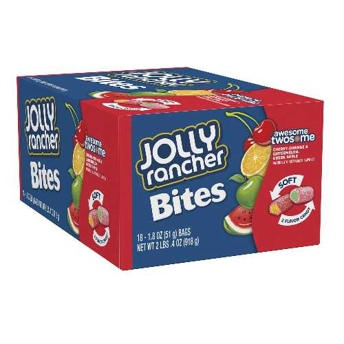 Jolly Rancher Bites 51 g X 18 Bags