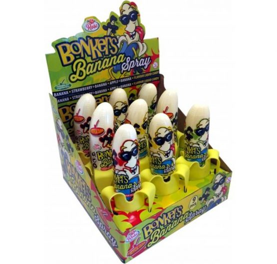Candy Spray Bonkers Banana 50ml 9/Box