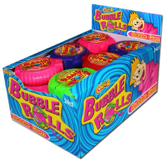 Bubble Gum Bubble Rolls