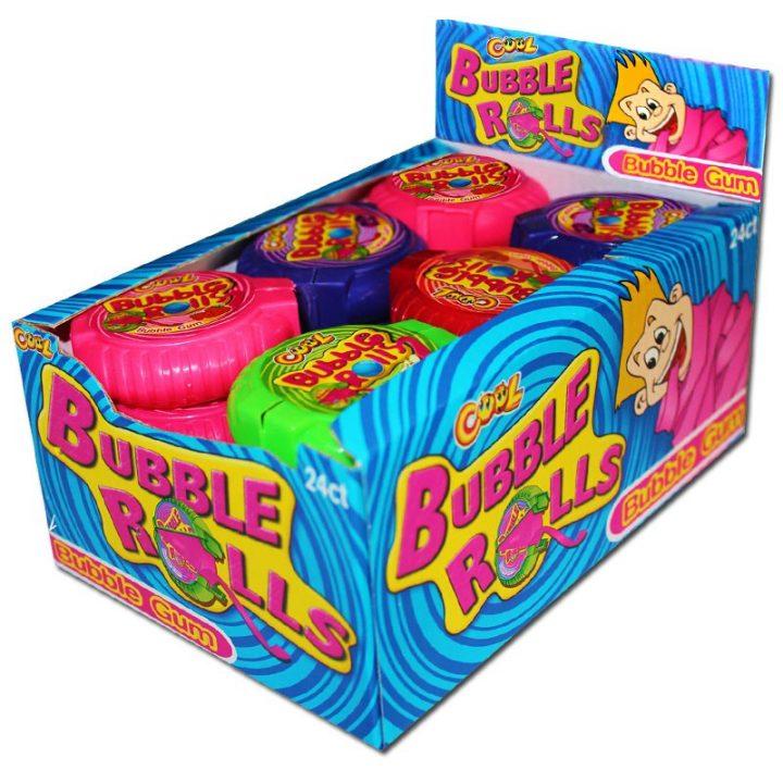 Bubble Gum Bubble Rolls