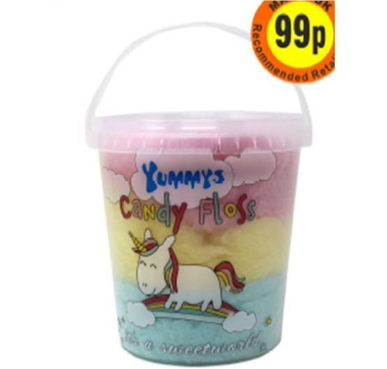 Candy Floss 50g Tub 6 per Box
