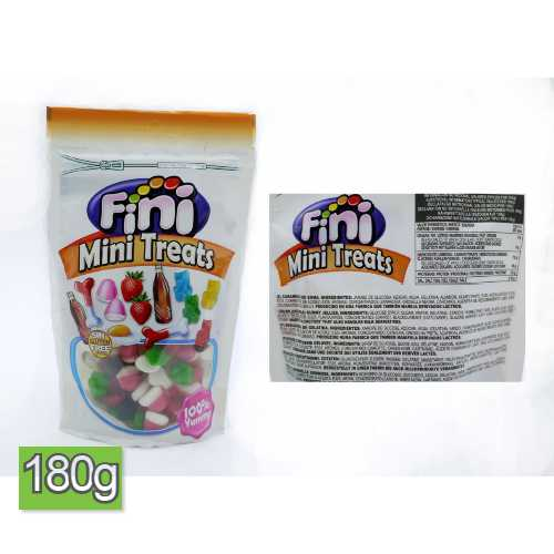 Fini Mini Treats Candy 180 g Bag X 16