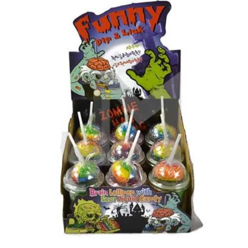 Lollipops Funny Dip n Lick 75g