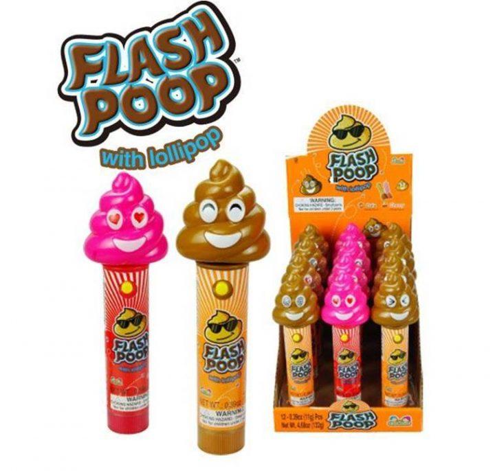Lollipops Flash Poop pop 11g X 12