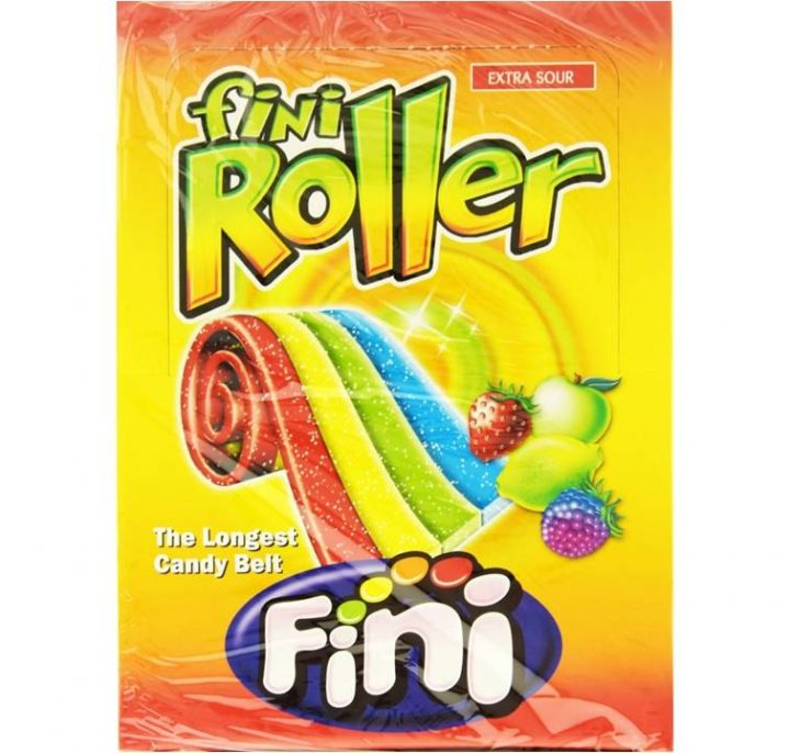 Candy Belt Fini Roller Extra Sour 40 per Box