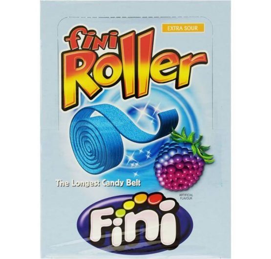 Candy Belt Fini Roller Respberry Extra Sour