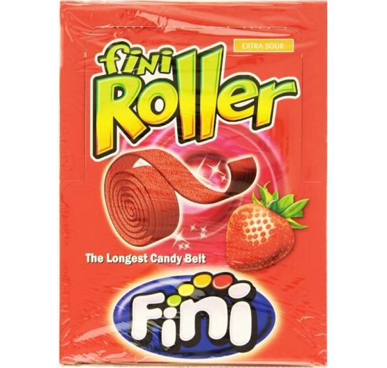 Candy Belt Fini Roller Strawberry Extra Sour