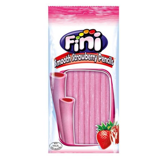 Candy Bag Fini Smooth Strawberry Pencil £1 150g 14 per Box