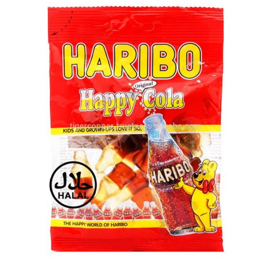 Haribo Happy Cola 80 g Bag