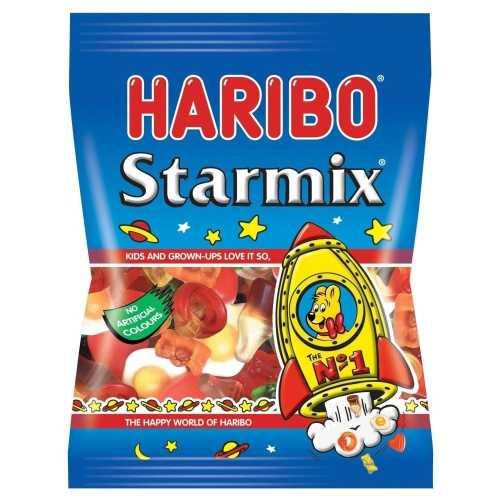Haribo Star Mix 80 g Bag 24 Per Box