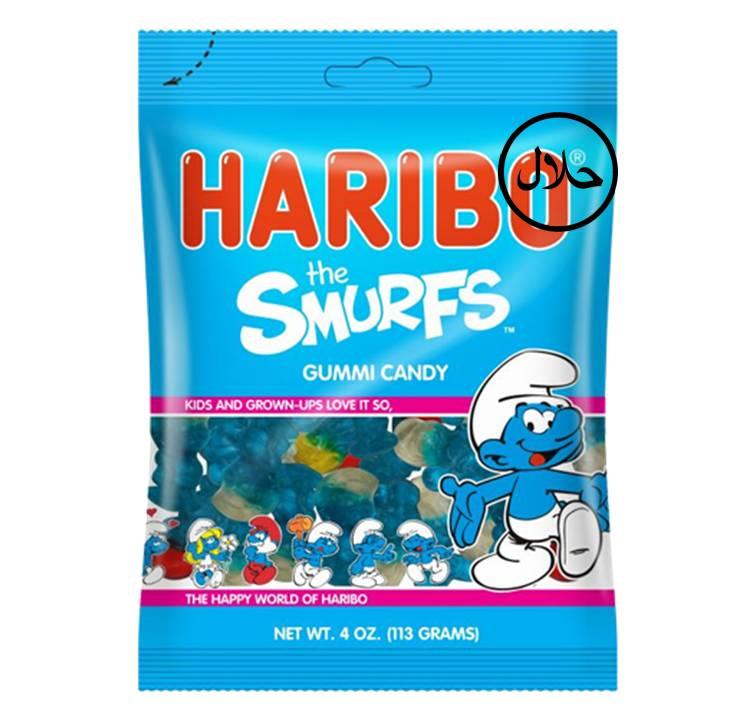Haribo Smurfs 80 g Bag 24 Per Box