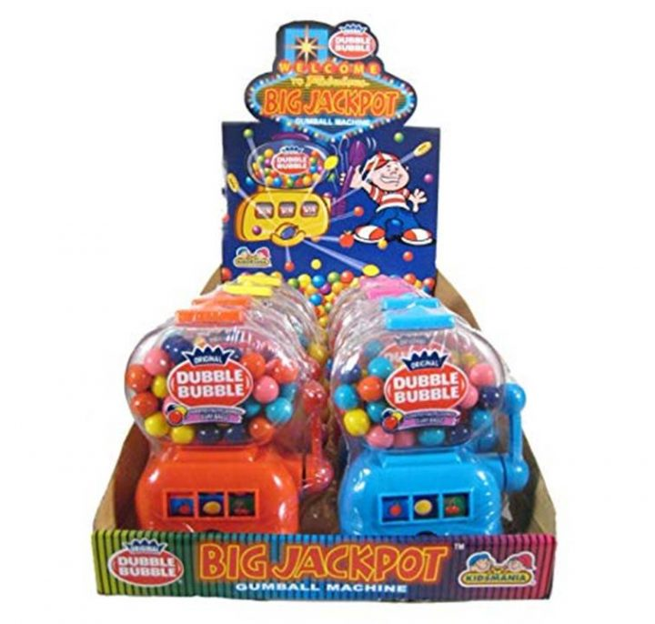 Bubble Gum Jackport Machine X 12