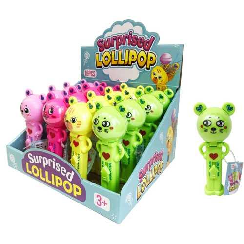 Lollipops Lovely Bear 10g X 16