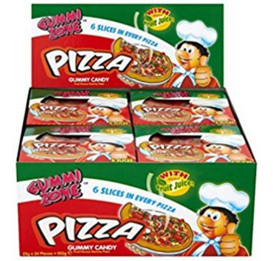 Candy Gummy Pizza 6 slices 23g 24/Box
