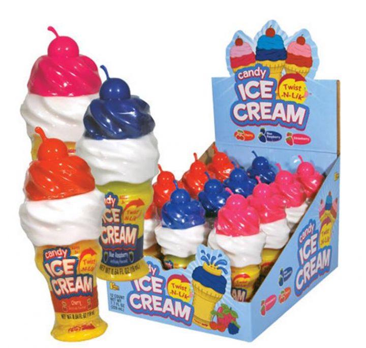 Candy Twist n Lick Ice Cream 45g 12/Box
