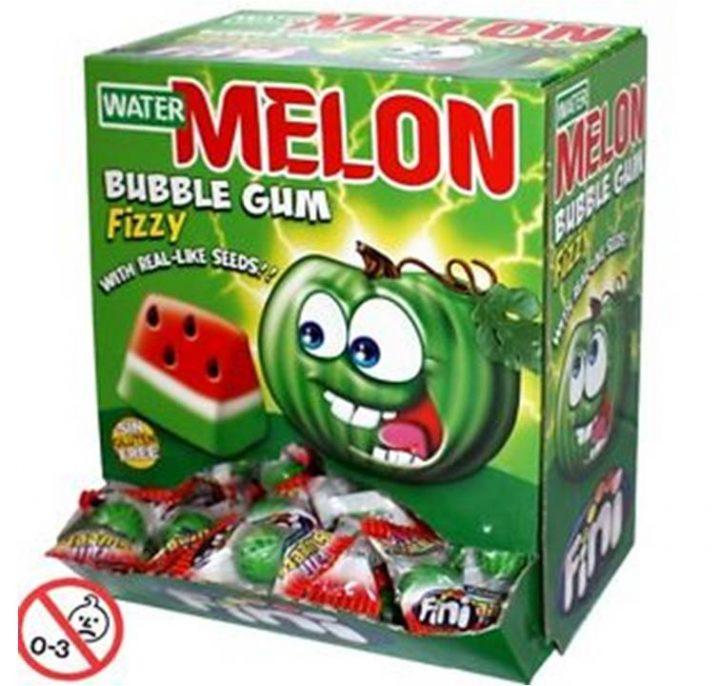 Bubble Gum Fini Watermelon Fizzy 200/Box