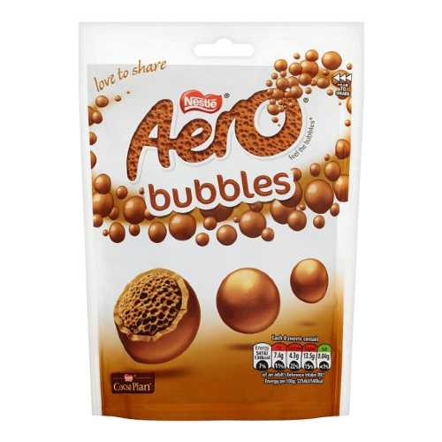 Chocolate Aero Milk Chocolate Bag 80 g