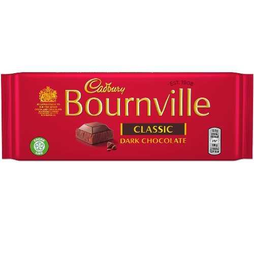 Chocolate Cadbury Bournville Classic 100 g X 15