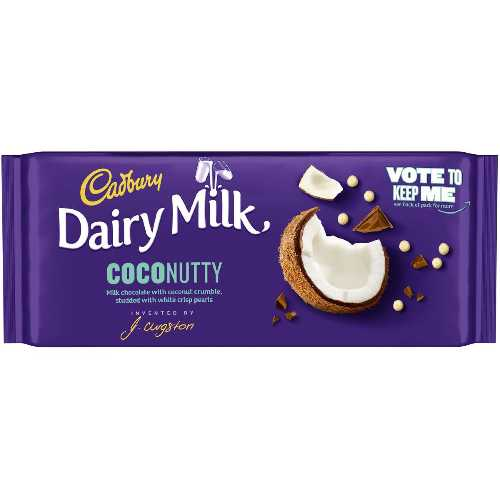 Chocolate Cadbury Dairy Milk COCONUTTY X 15