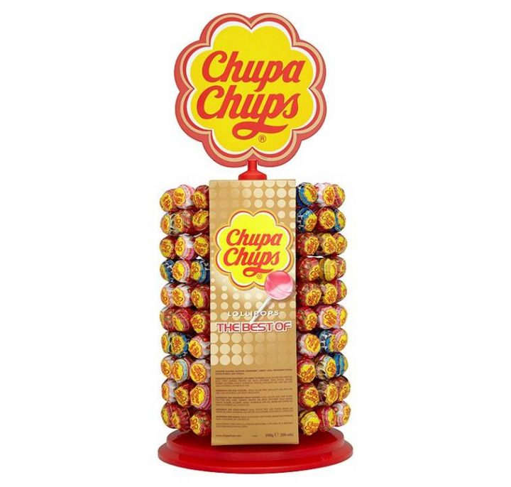 Lollipops Chupa Chups The Best of Assorted Flavors 12g 200/Display