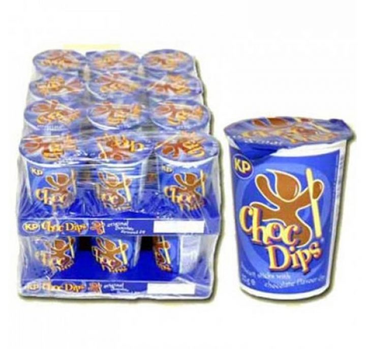 Biscuits KP Choc Dips Biscuits Sticks with Milk Chocolate Dip 32g 24/Box