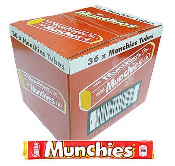 Chocolate Nestle Munchies Tube 52g