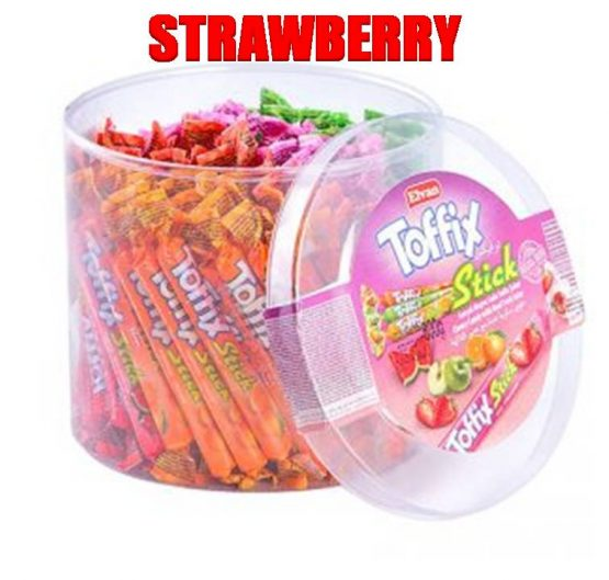 Chew Stick Toffix Strawberry