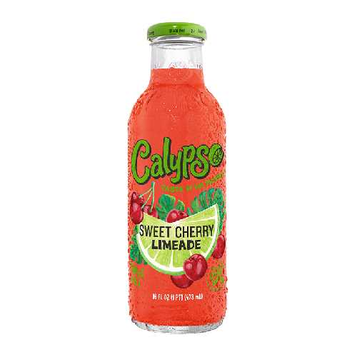 Calypso Drink 16 Fl Oz Sweet Cherry Lemonade