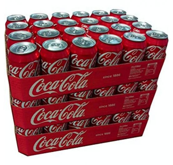 Coca Cola Can 330 ml Original 24 Per Box