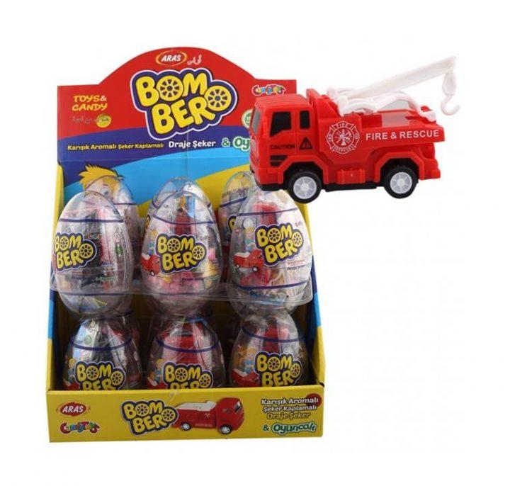 Big Collection Egg Boom Bero 12 Per Box