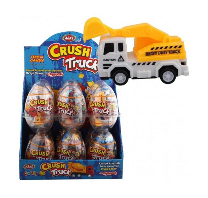 Big Collection Egg Crush Truck 12 Per Box