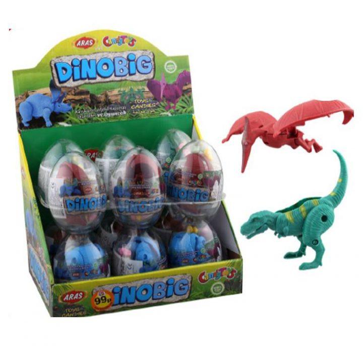 Big Collection Egg DinoBig 12 Per Box