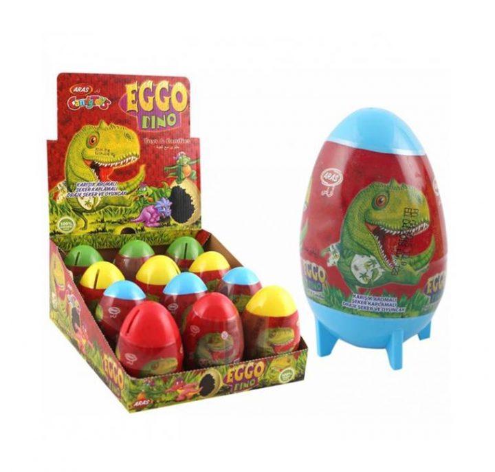 Big Collection Egg Eggp Dino 12 Per Box