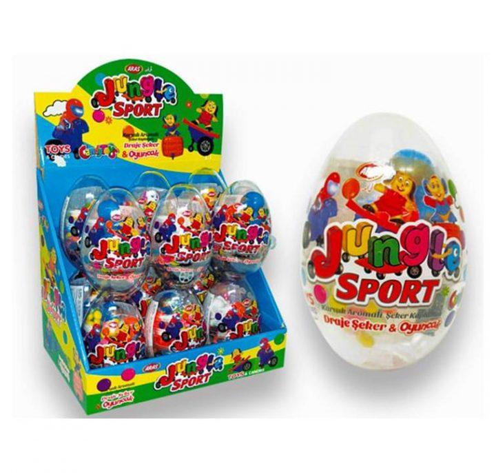 Big Collection Egg Jungle Sport 12 Per Box