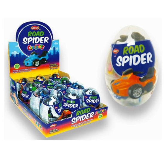 Big Collection Egg Jungle Road Spider 12 Per Box