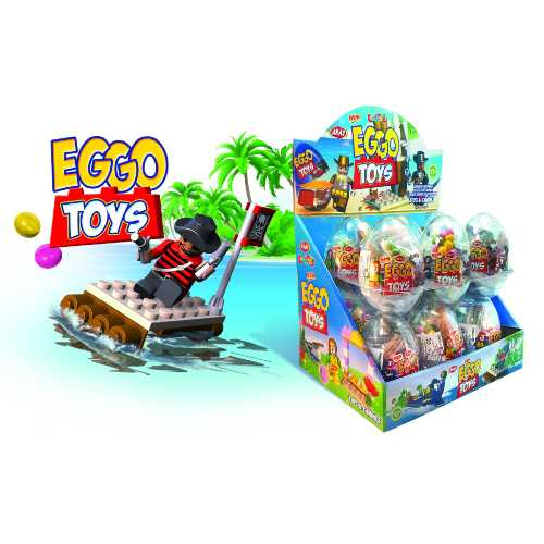 Big Collection Egg Eggo Toys 12 Per Box