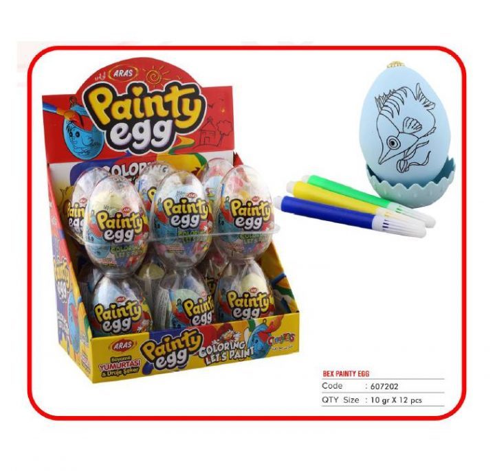 Collection Egg Painting Egg 12 Per Box