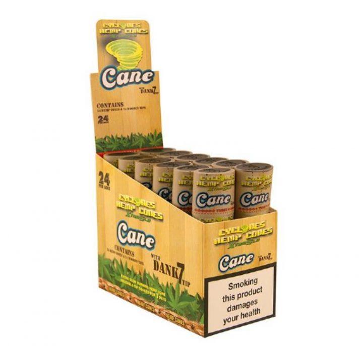 Cyclones Wraps Sugar Can 24/Box