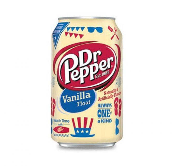 Dr. Pepper Can 355ml Vanilla Float 12 Per Box