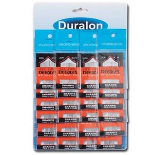 Duralon Sewing Needles 20ct 24/Cards