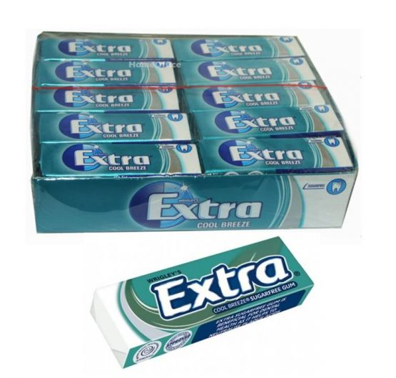 Chewing Gum Wrigley's Extra Cool Breeze 14g 30/Box