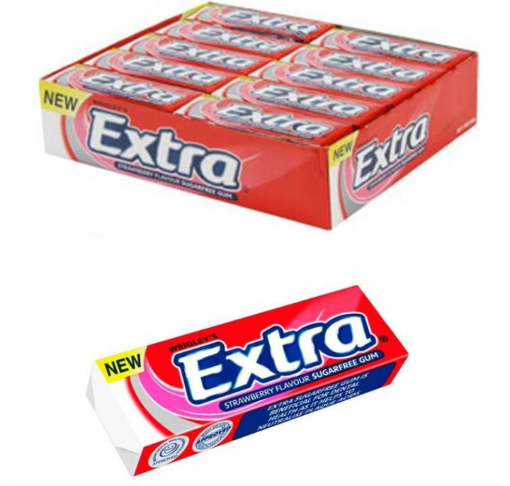 Chewing Gum Wrigley's Extra Strawberry 14g 30/Box