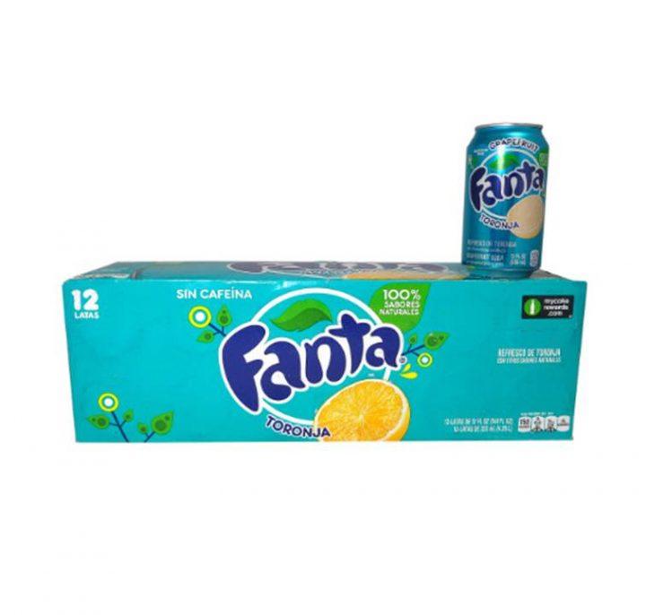 Fanta Can 355ml GrapeFruit (American)