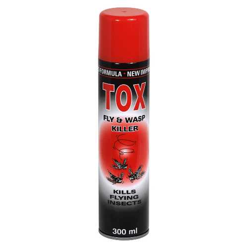 Fly & Wasp Killer Tox 300ml X 12